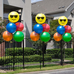 Durable, helium-free vinyl balloons are perfect for schools too!
